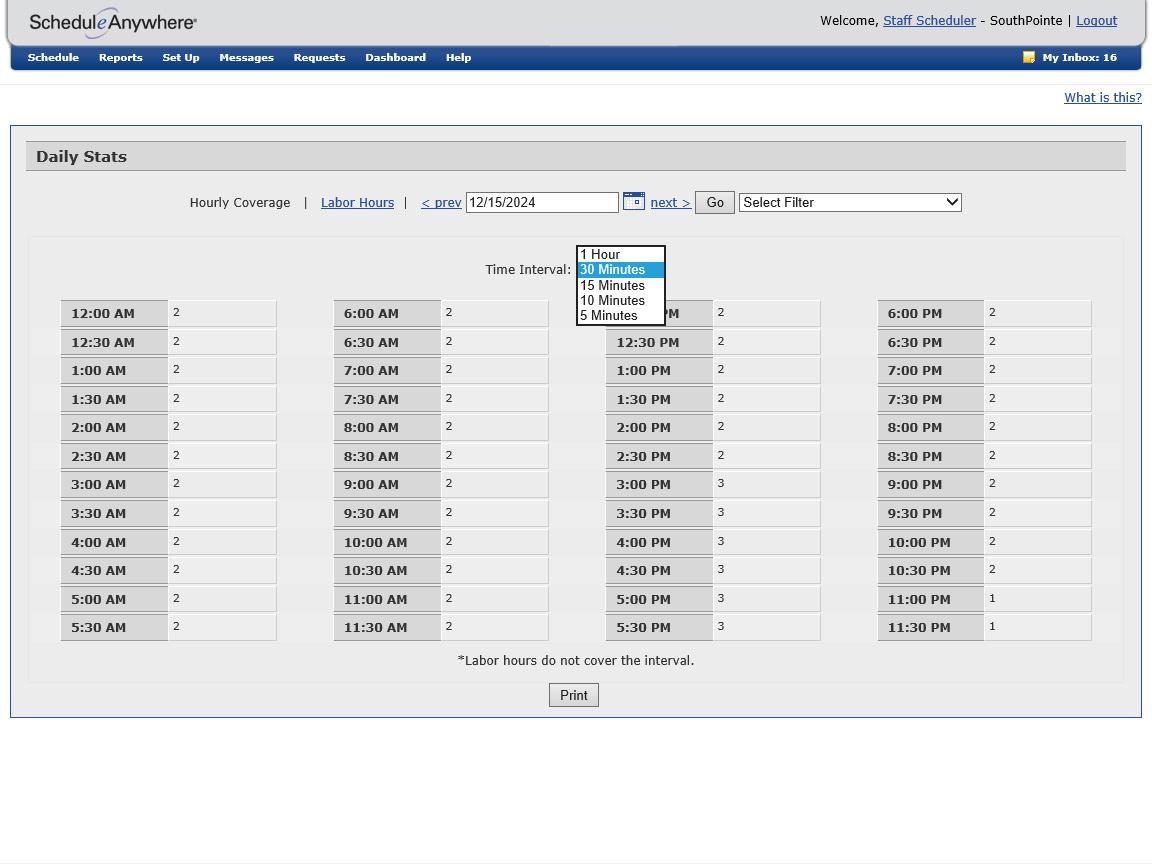 Employee Scheduling Software | ScheduleAnywhere
